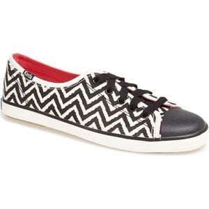 KEDS Rally Zig Zag Chevron Lace Up Sneakers 9.5